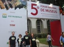 Parte da equipe do Sobrado Histórico José Francisco Lippi. https://www.facebook.com/media/set/?%20set=a.833563673394876.1073741898.287232954694620&type=3