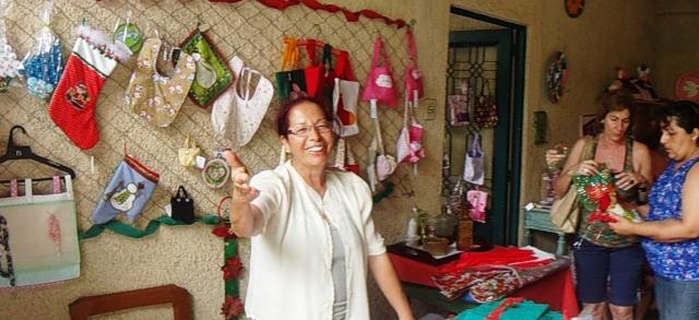 Dezembro. O tradicional Bazar de Natal.
