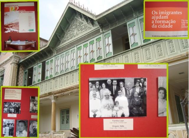 """A exposição """"Teresópolis – 122 anos de História"""" da Casa da Memória Arthur Dalmasso lembra que a família Lippi figura como uma entre as várias que contribuíram para a formação de nossa cidade."""