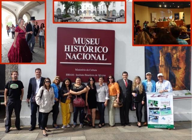 OSobrado Histórico José Francisco Lippi, juntamente com outros empreendimentos e instituições teresopolitanas marcaram presença no lançamento do Tour da Experiência - Caminhos do Brasil Imperial, que ocorreu no Museu Histórico Nacional (Rio de Janeiro), no dia 13.