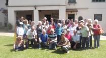 Grupo de 3ª idade da Primeira Igreja Batista de Teresópolis visitou o Sobrado em novembro