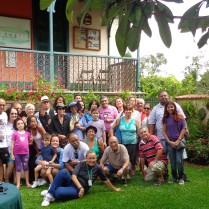 Os visitantes do SESC Madureira desfrutaram de visita mediada e café em 29/03