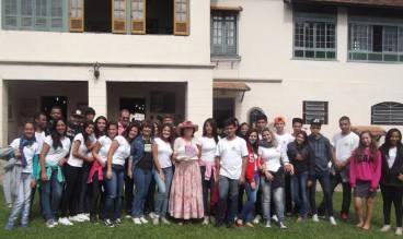 Centro Interescolar de Agropecuária José Francisco Lippi, de Venda Nova (1ª turma visitante em 18/05/15)