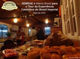 SEBRAE e Marca Brasil em visita técnica para o Tour da Experiência Caminhos do Brasil Imperial.